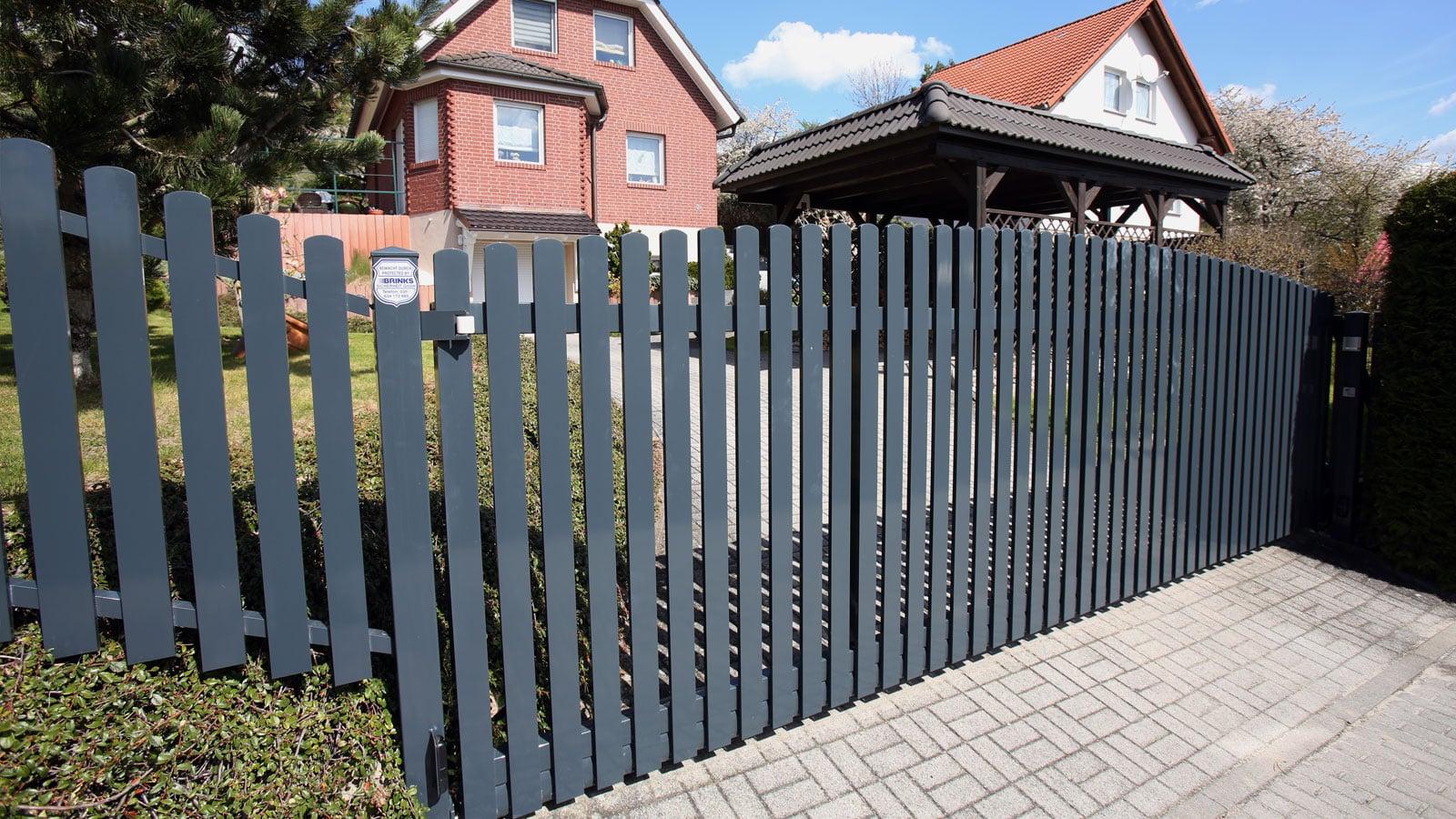 Designzaun Aluminium Metall Und Zaunbau Schafer Gmbh