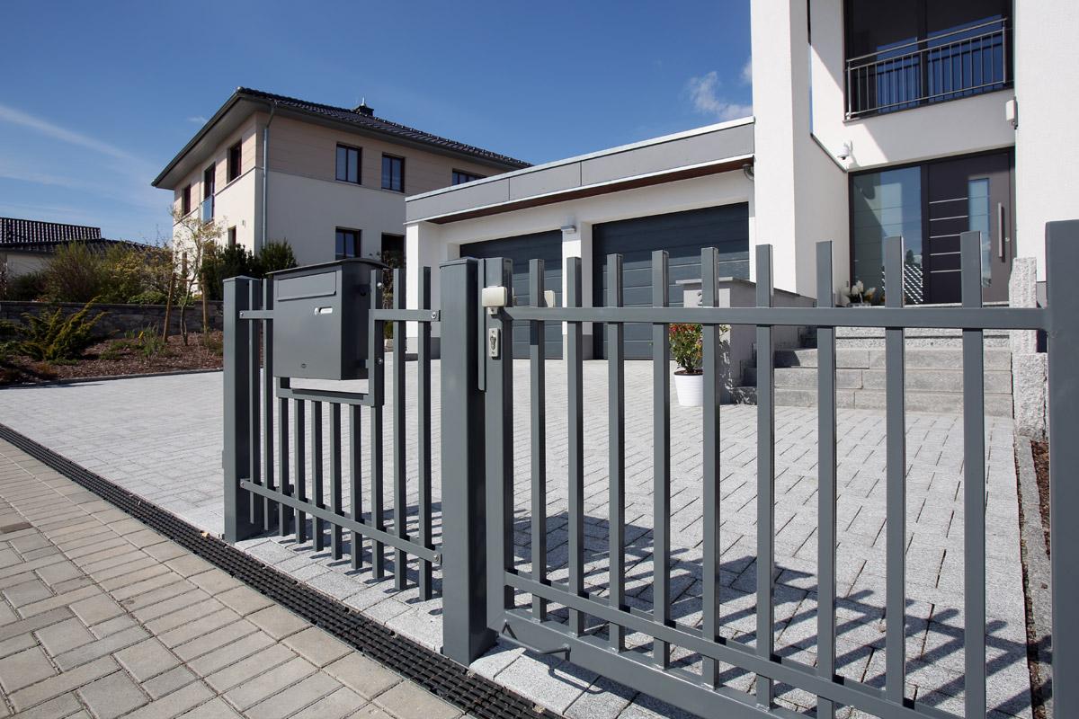 Designzaun Stahl Metall Und Zaunbau Schafer Gmbh