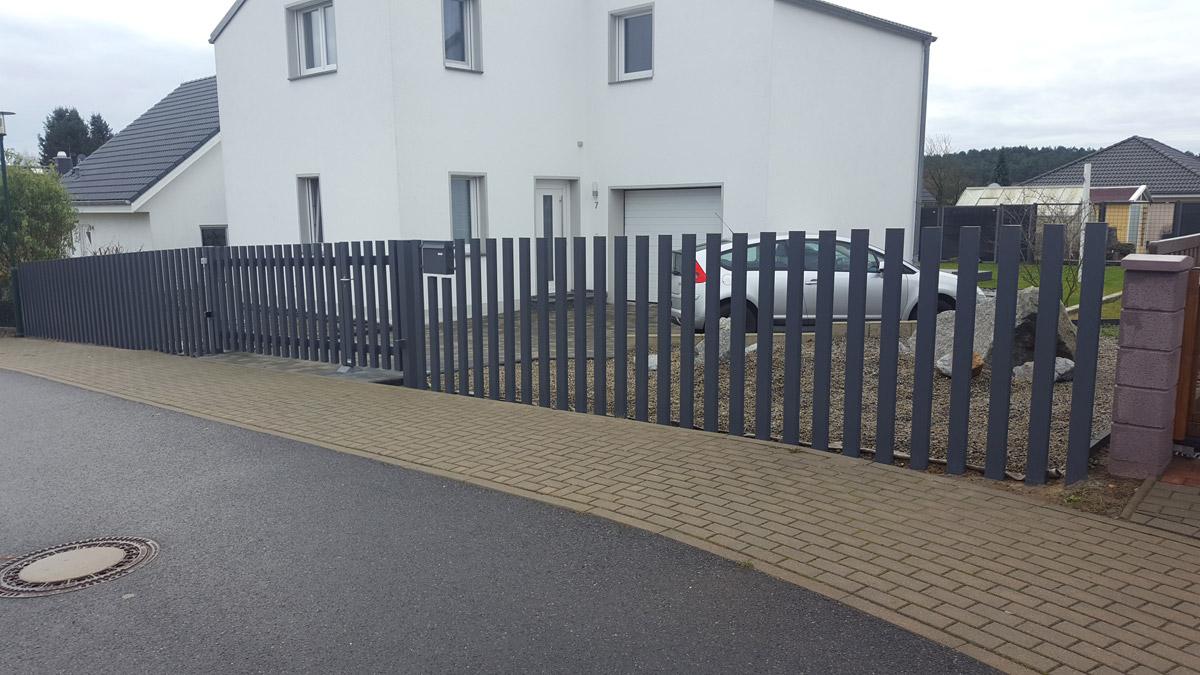 Designzaun Stahl Metall und Zaunbau Schäfer GmbH